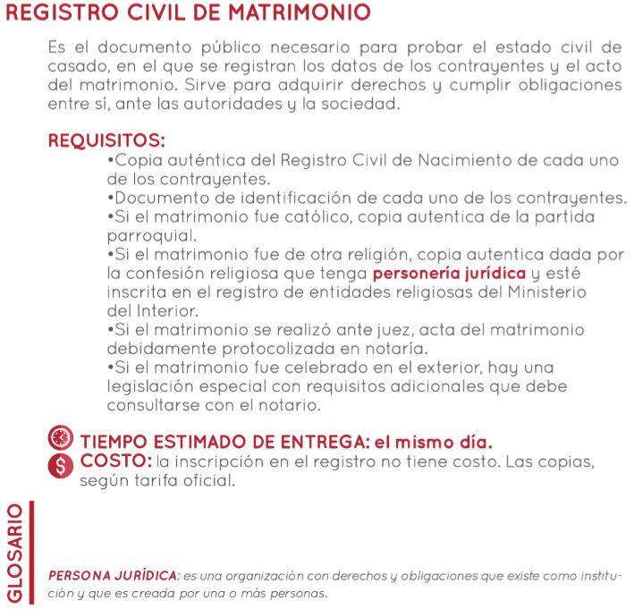 Registro Matrimonio Catolico Notaria : Notarias colombianas